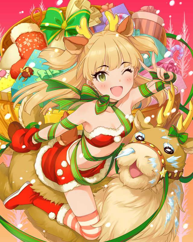 パッション [ハッピー☆クリスマス]城ヶ崎莉嘉+ (Sレア+)