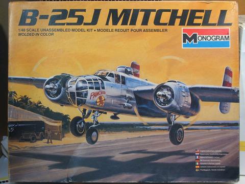 1/48 B-25J パッケ