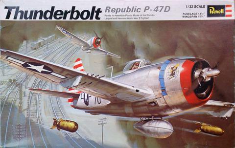 レベル 1/32 P-47D サンダーボルトpac-001