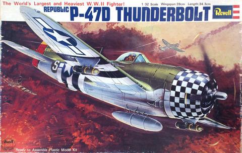 レベル 1/32 P-47D サンダーボルトpac-002