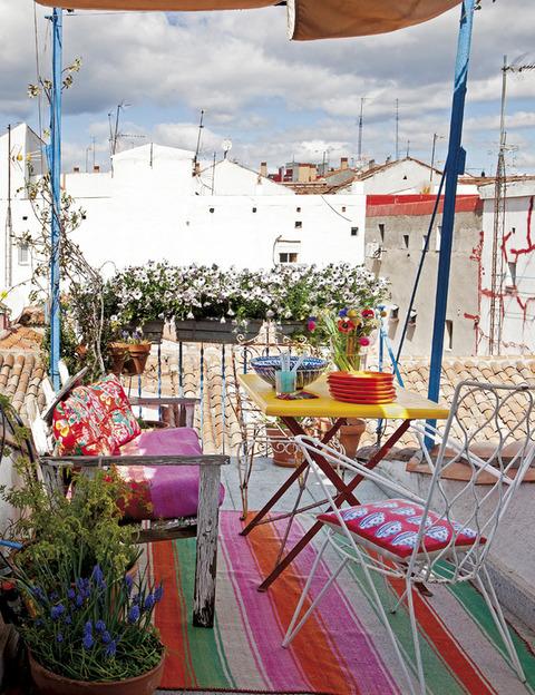 Madrid アーティストのカラフルHouse