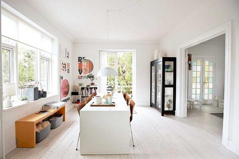 デンマーク 建築家とデザイナーカップルの家
