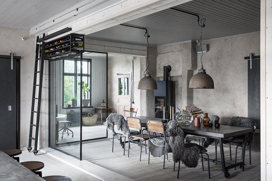 Decor file sweden for Decoration maison style industriel