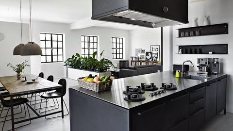 デンマーク Vippのチーフデザイナーの家