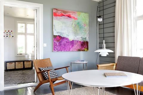 ノルウェー インダストリアルデザイナーの家