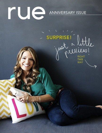 オンライン雑誌 RUE Magazine Anniversary Issue