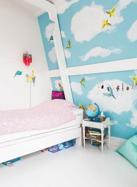 Holland キュートなKids Room のカラフルな家
