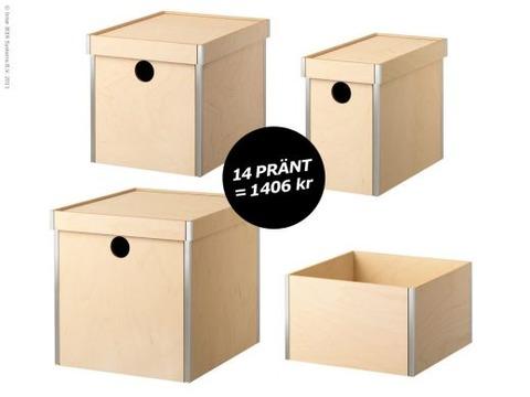 IKEA 収納BOX PRÄNTで作る棚