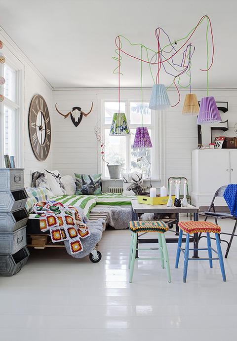スウェーデン ビンテージスタイルのHappy House