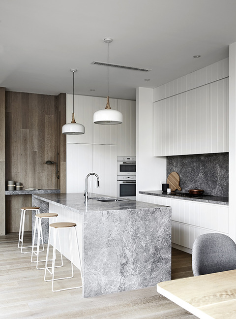 Australia Wood, White, Greyの家