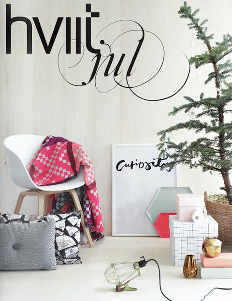 ノルウェーのHviitのクリスマスカタログ