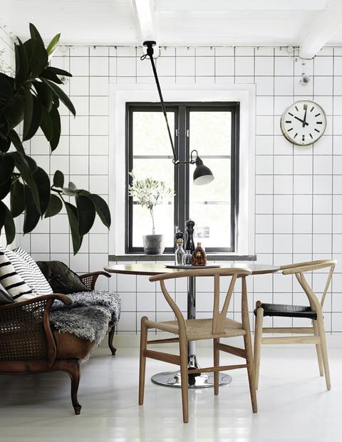 スウェーデン ユニークなBlack & White スタイリング
