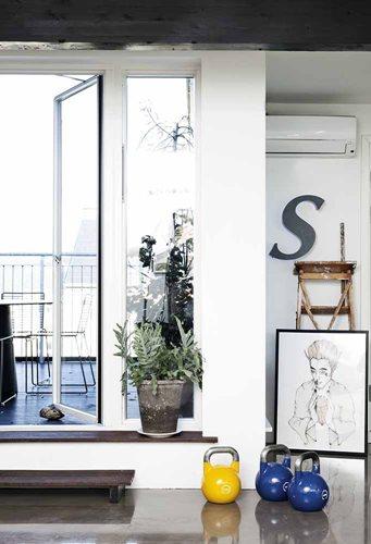 Copenhagen アーティスト夫婦のアパートメント