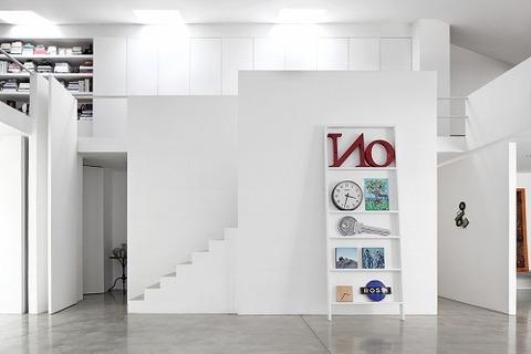 ミラノのフォトグラファーの家