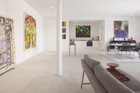 Berlin 建築家でアートギャラリーオーナーの家