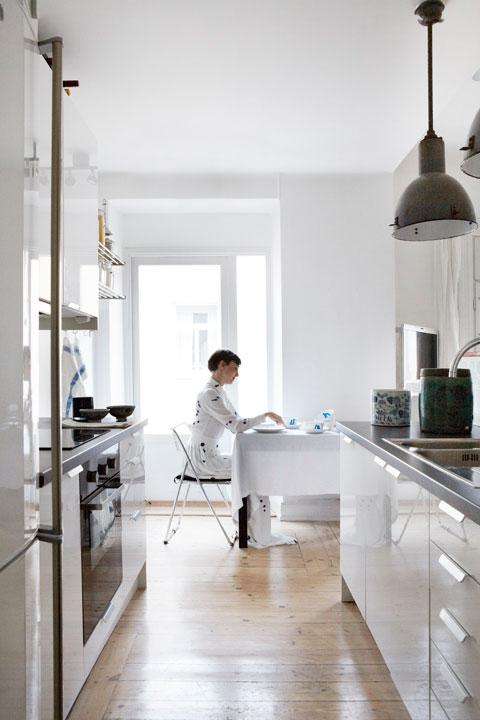 Sweden アパレル会社とのコラボのアパートメント