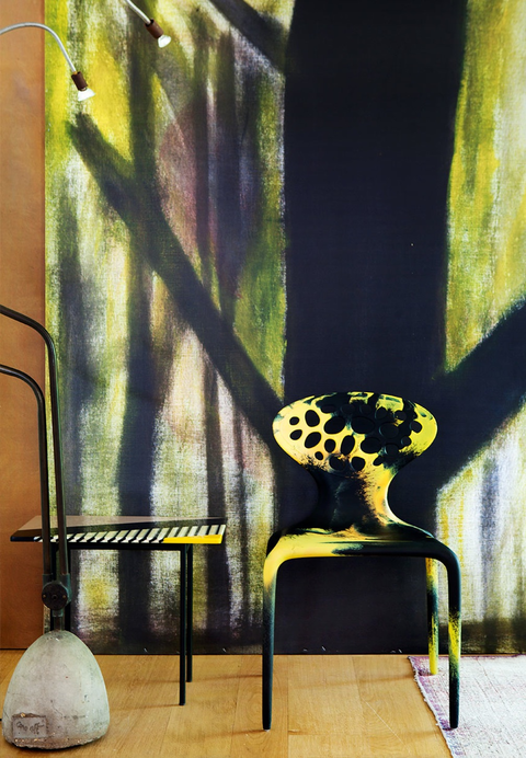 Italy 家具のクリエーティブディレクターのアートな家