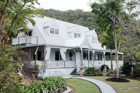 オーストラリア 白いカントリーHouse