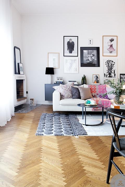 インテリアデザイナー Sanna Fischer Nordström さんの家