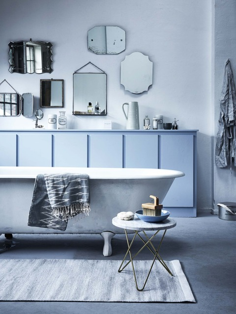 Grey, Blue, White の Classic & Modern Mix