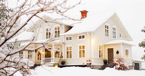 スウェーデンのファームHouseのクリスマス