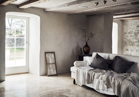 Simple Natural Swedish Country House