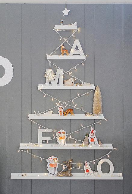 IKEAのRIBBAで作ったクリスマスツリー