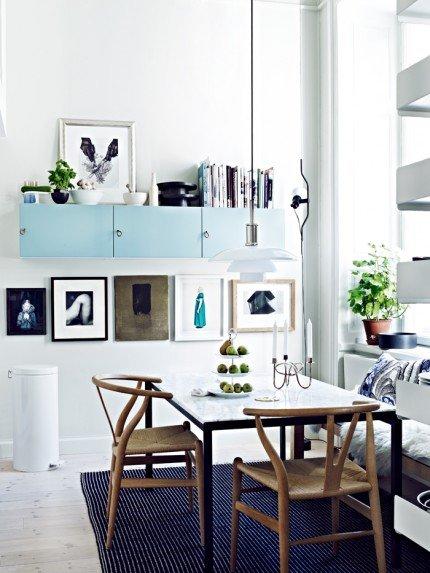 Sweden クラシックDanish Furnitureがいっぱいの家