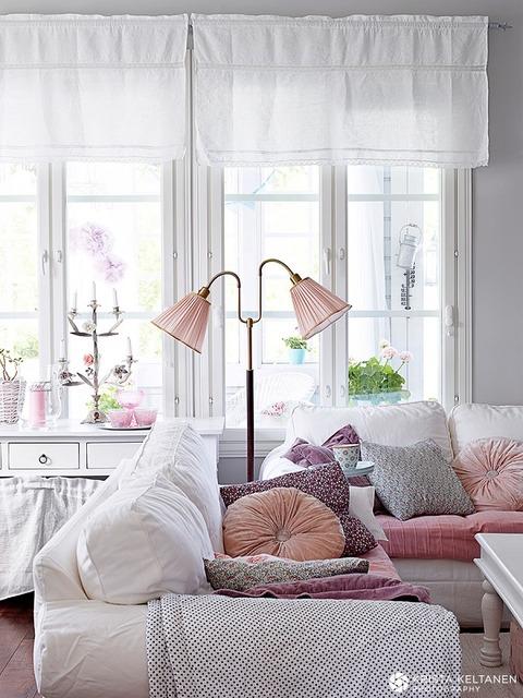 Finland ロマンティックでキュートな家