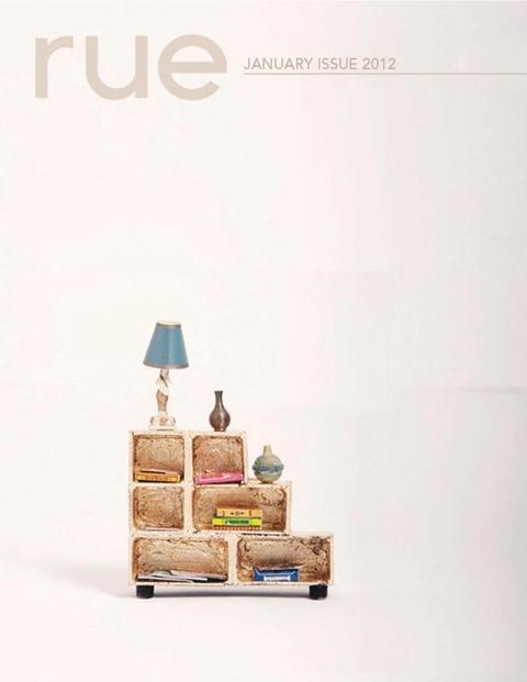 オンライン雑誌 Rue Magazine 1月号