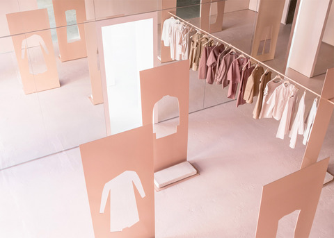 Los Angels POP UP Storeのインテリア