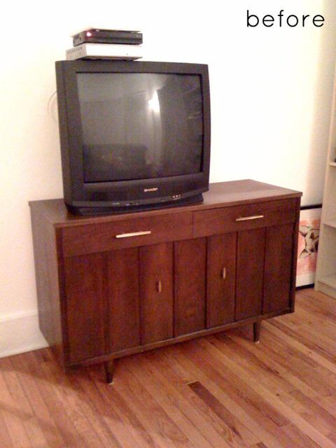 古い家具をリメイク Brfore & After