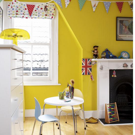 Yellow Kids Room Decor: Decor File : 子供部屋のインテリア*1