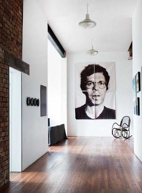 メルボルン クールなアートがいっぱいの家