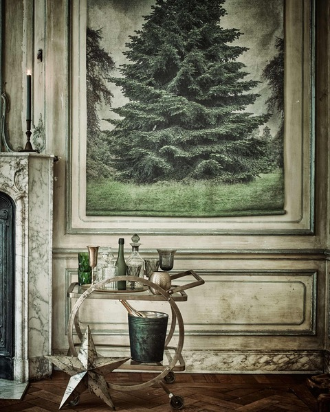 MIXスタイルのGreen Christmas Decoration