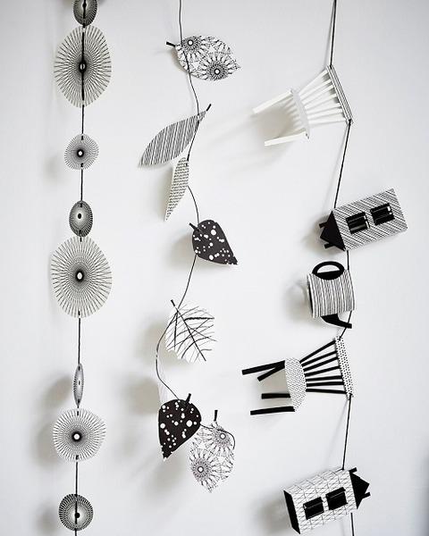 Black & White ガーランド