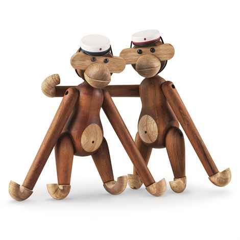 Kay Bojesen monkey with student cap