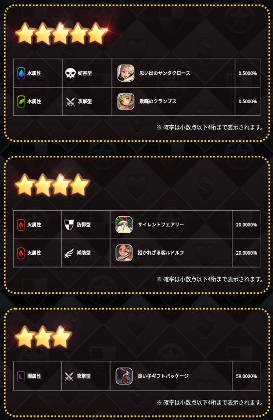 メリクリ★5召喚チケット