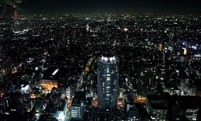 カシータからの夜景