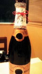 ボトルシャンパン
