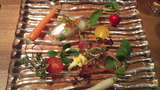 前菜 鮮魚と那須の野菜たち