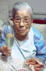 シャンパンと祖母