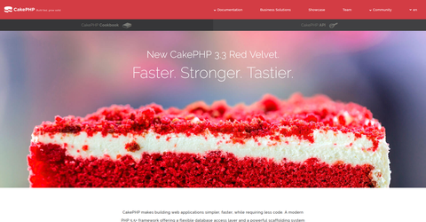 CakePHP - Build fast, grow solid  PHP Framework  Home