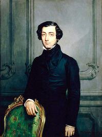 シャセリオー《アレクシ・ド・トクヴィルの肖像画》