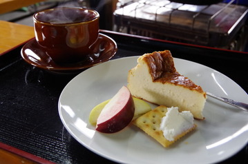IMGP1671見晴茶屋のチーズケーキ
