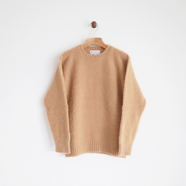 Shetland Woollen Co  シャギードッグセーター | diance