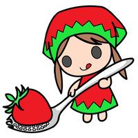 苺スプーン