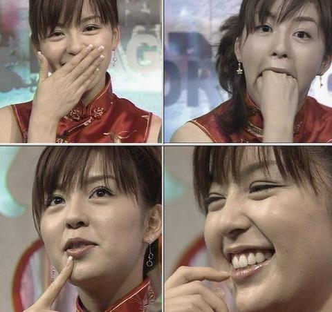 チャイナドレスが似合う中野美奈子