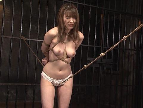 波多野結衣さんの股縄調教の動画
