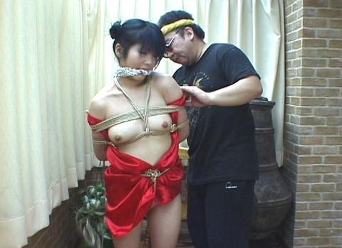 チャイナドレス緊縛と猿轡を楽しみたい!